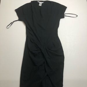 Diane Von Furstenberg Black Dress Size 6